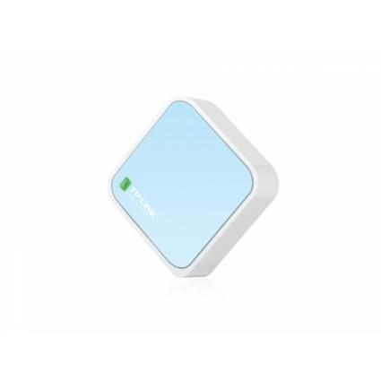 Mini Router Broadband, TL-WR802N, para modem ADSL/Cabo via RJ-45 com 1xRJ45 LAN/WAN.