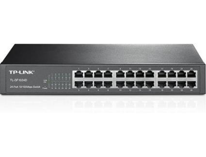 Switch TP-LINK TL-SF1024D (24 Portas Fast Ethernet - 100 Mbps)