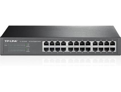 Switch TP-LINK TL-SG1024D (24 Portas Gigabit - 1000 Mbps)