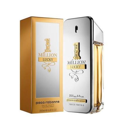 Perfume Homem 1 Million Lucky Paco Rabanne EDT (200 ml)