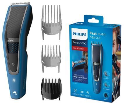 Aparador Barba/Cabelo Recarregável c/ Acessórios - PHILIPS