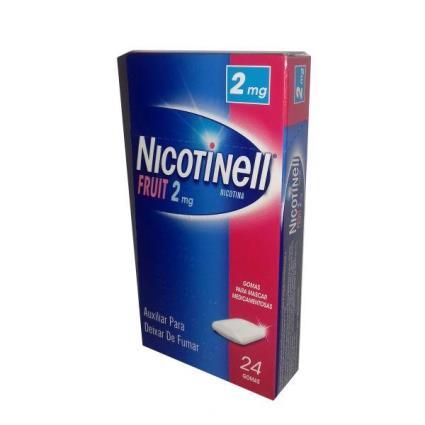 Nicotinell Fruit Goma 2mg 24