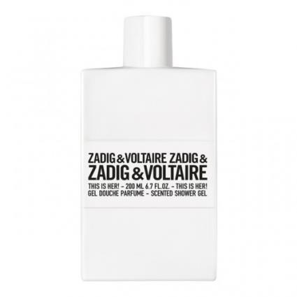 Zadig & Voltaire This Is Her Shower Gel 200ml