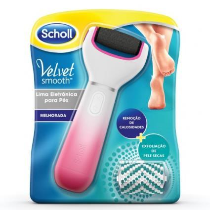 Scholl Velvet Smooth Lima Elétrica Rosa Exfoliante