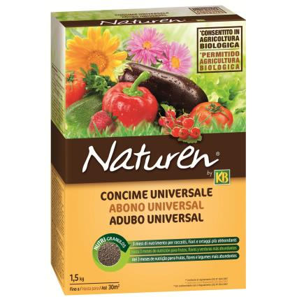 Adubo universal KB NATUREN GRANULADO 1.5KG