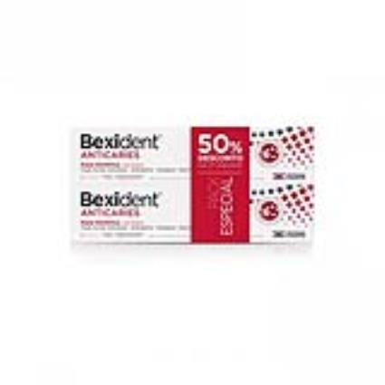 Isdin Bexident Pack Anticáries Pasta De Dentes 2x125ml