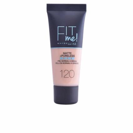 MAYBELLINE FIT ME MATTE+PORELESS foundation #120-classic ivory