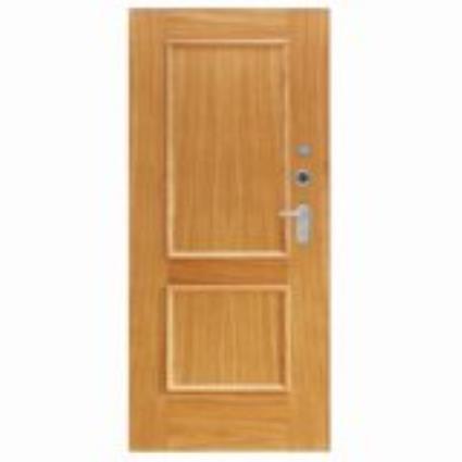 Porta de entrada blindada HI-TECH CARVALHO 85X210CM ESQUERDA 600SP