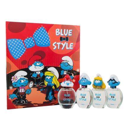 Perfume Criança Pitufos Los Pitufos Blue Pack 4 Personagens 50ml