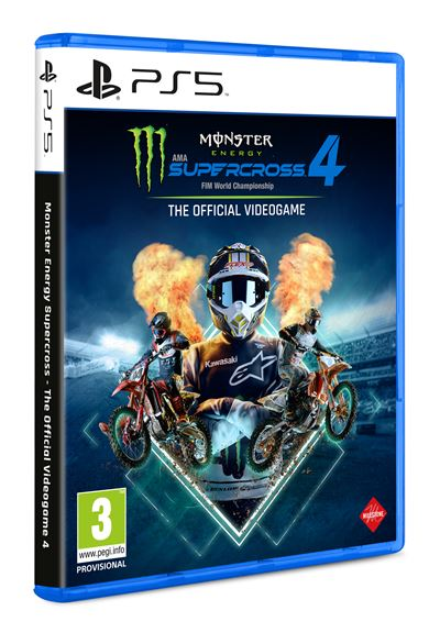 Monster Energy Supercross - The Official Videogame 4 - PS5