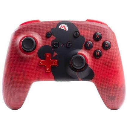 Comando Bluetooth Wireless Power A para Nintendo Switch - Mario Silhouette