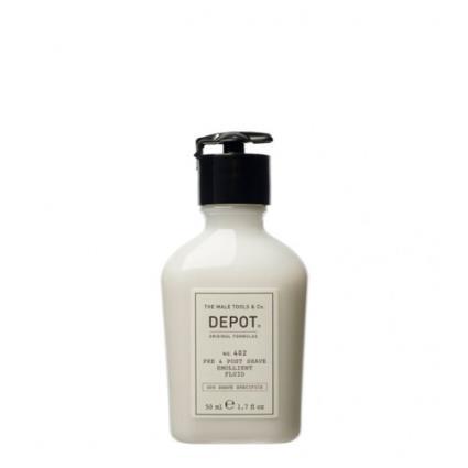 Depot Nº 402 Pre & Post Shave Emollient Fluid 50ml