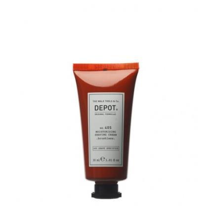 Depot Nº 405 Moisturizing Shaving Cream - Brushless 30ml