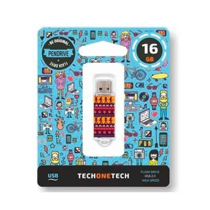 Pen Drive 16Gb Tech One Tech Tribal Questions Usb 2.0