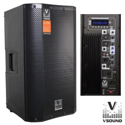 Coluna Bi-Amplificada PRO 12