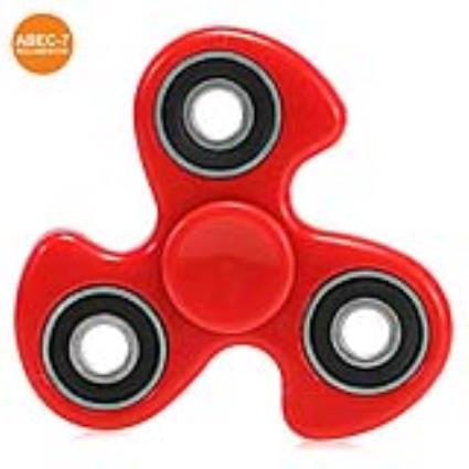 Fidget Spinner Vermelho Abec-7