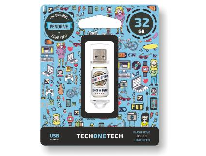 Pendrive 32Gb Tech One Tech Beers E Byte San Midrive