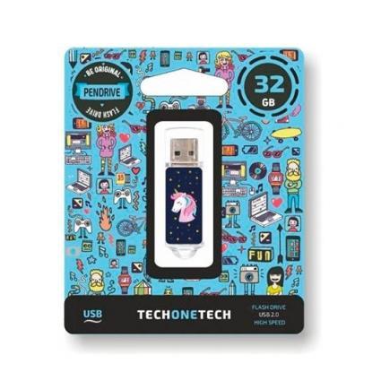 Pendrive 32Gb Tech One Tech Unicornio Dream Usb 2.0