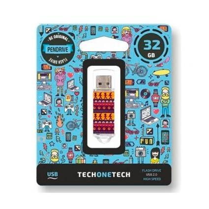 Pendrive 32Gb Tech One Tech Tribal Questions Usb 2.0