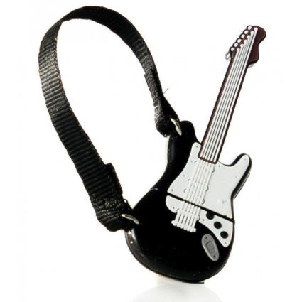 Pendrive 32Gb Tech One Tech Guitarra Black / White Usb 2.0