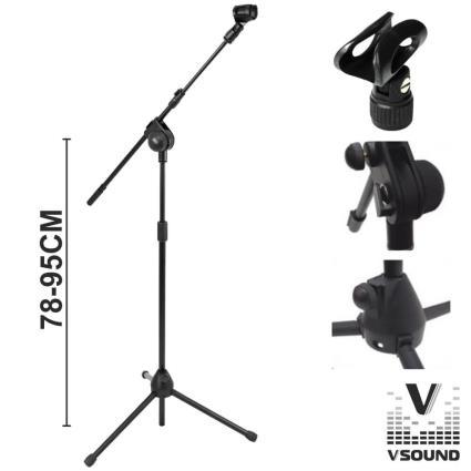 Suporte Para Microfone Profissional Vsound