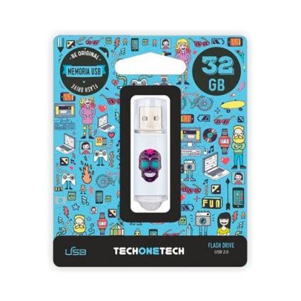 Pendrive 32gb Tech Um Tech Calavera Maya