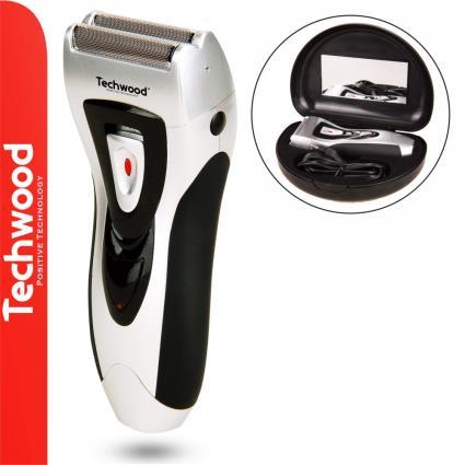 Máquina Barbear Portátil 3W TECHWOOD