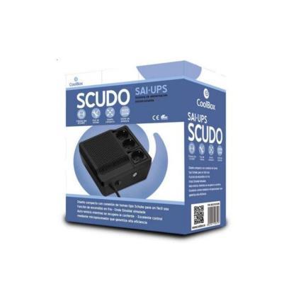 SAI Off Line CoolBox SAICOOSC600B 300W Preto