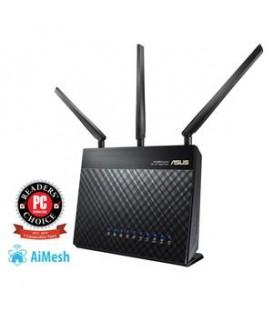 ASUS RT-AC68U Router SEM Fios DUAL-BAND (2,4 GHZ / 5 Ghz) Gigabit Ethernet Preto