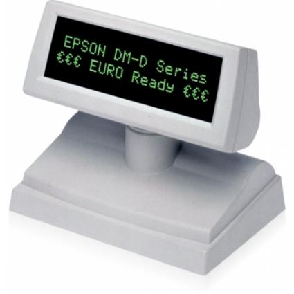 Visor de Cliente EPSON DM-D110BA com suporte, Cinzento