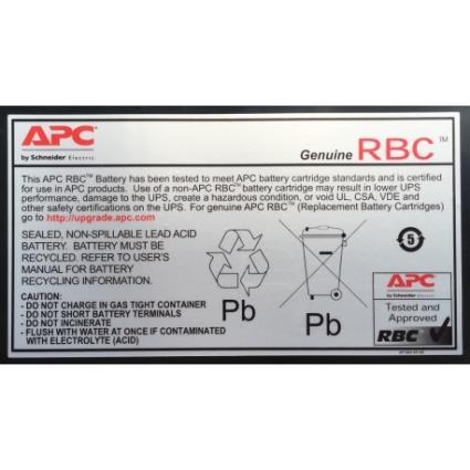APC Replacement Battery Cartridge 6