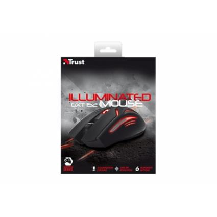 TRUST GAMING MOUSE GXT152 EXENT 2400DPI