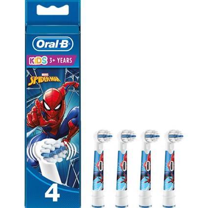 Cabeça de Escova Oral-B Kids Homem Aranha da Marvel - 4 Uni