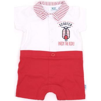 Melby  Macacões/ Jardineiras 20P7370  Vermelho Disponível em tamanho para rapariga. 9 meses,0 / 6 meses.Criança > Menina