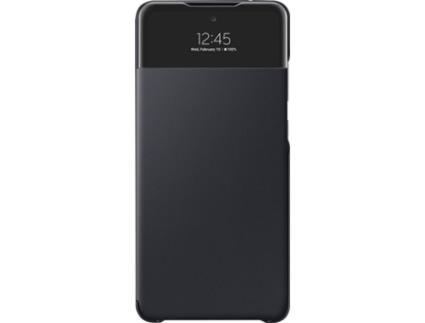 Capa SAMSUNG Galaxy A72 S View Wallet Preto
