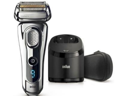 Máquina de Barbear BRAUN S9 -9295Cc (Autonomia 50 Min - Mista)