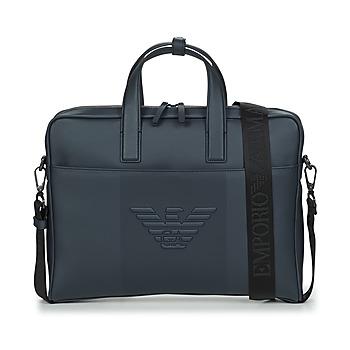 Emporio Armani  Pouch / Clutch Y4P120-YFE6J-80033  Azul Disponível em tamanho para homem. Único.Bolsas > Pouch/ Clutch
