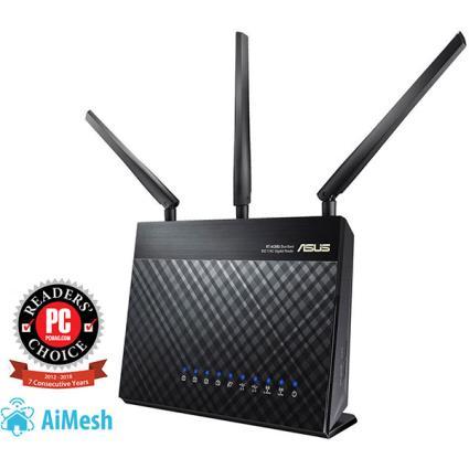 Router Asus Wir. Dualband Ac1900+4xgigabit+2xusb-.