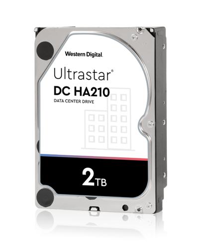 Disco 3,5 2tb Wd Ultrastar Ha210 128mb Sata 6gb/s.