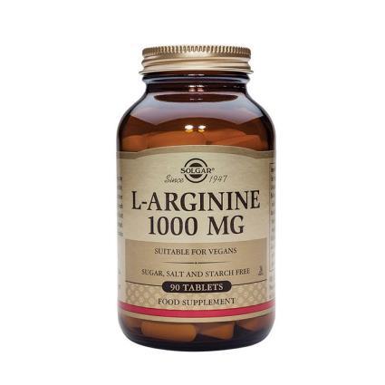 Solgar L-arginina 00 mg 90 comprimidos