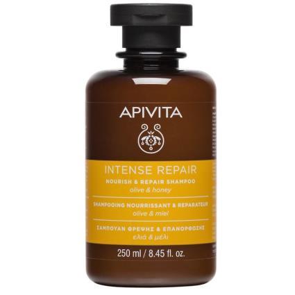 Apivita nutrir shampoo e reparar 250ml