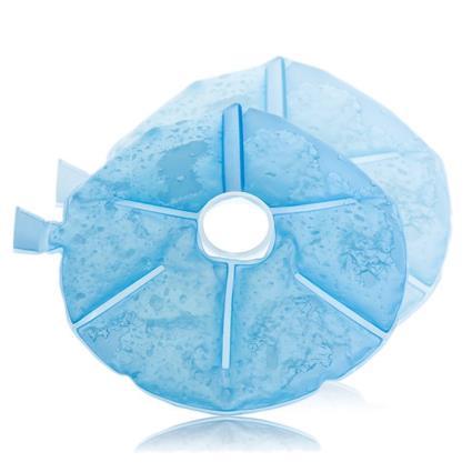 2 almofadas de gel nuby calor frio