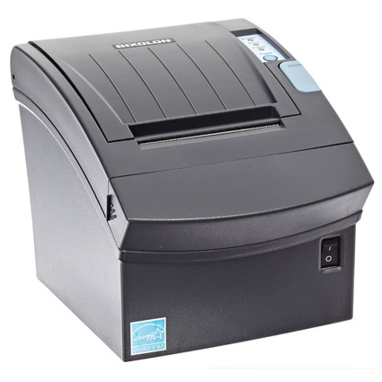 Bixolon - Impressora Tickets SRP-350III Usb Preta