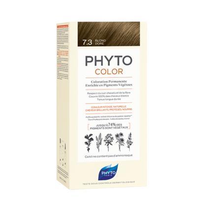 Phyto Color Coloração Permanente 7.3 Louro Dourado