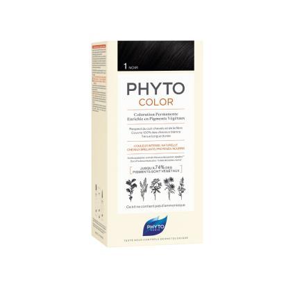 Phyto Color Coloração Permanente 1 Preto
