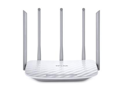 Router TP-Link AC1350 Dual Band Wi-Fi, 867Mbps+450Mbps, 802.11ac/a/b/g/n - Archer C60