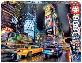 JOGOS E BRINQUEDOS KIDS - Puzzle Times Square Nova Iorque 1000 Peças