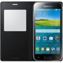 SAMSUNG - SAMSUNG - Capa View Galaxy S5 Mini EF-CG800BBEGWW