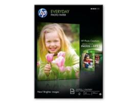 HEWLETT PACKARD - Papel Fotografia A4 Semi Glossy 170gr 100 Folhas HP