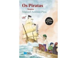 PORTO EDITORA - PORTO EDITORA Livro Os Piratas - Teatro - Manuel António Pina